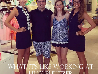 What's It's Like Working at Lilly Pulitzer