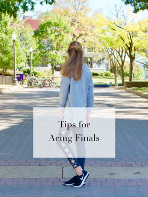 Tips for Acing Finals
