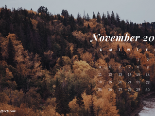 November Backgrounds