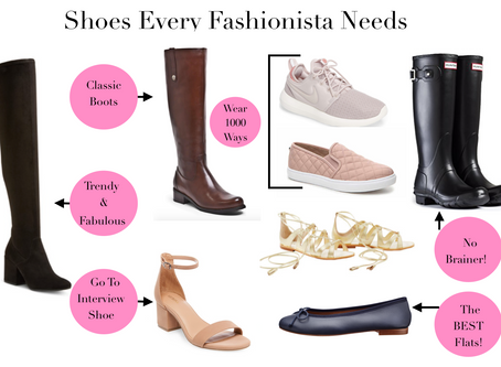 Shoes Every Fashionista Should Have