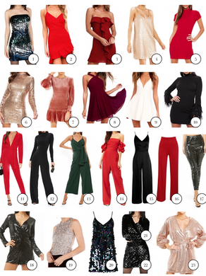 Outfits for Your Christmas Cocktail