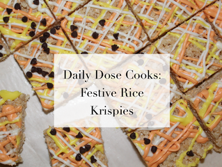 Daily Dose Cooks: Festive Rice Krispies