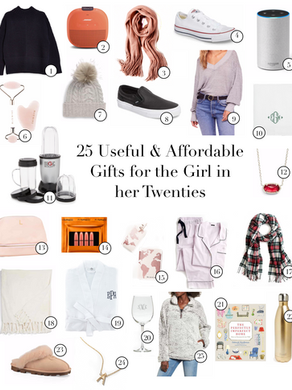 25 Gifts for the Girl in Her Twenties