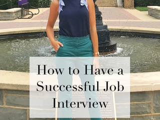 How to Have a Successful Job Interview