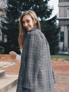 The Perfect Winter Blazer + Coupon Code