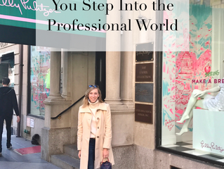 5 Things to Help You Step Into the Professional World
