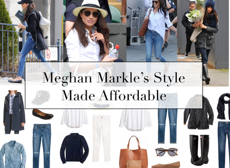 Meghan Markle's Style Made Affordable