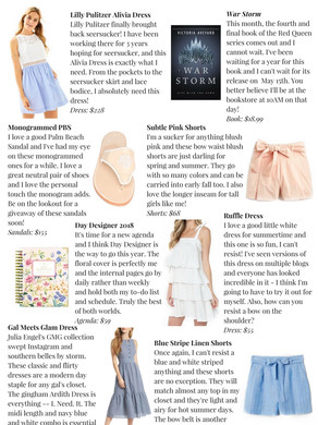 Monthly Must Haves: May