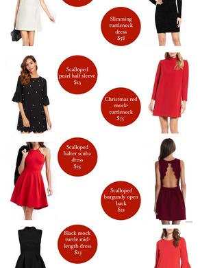 8 Holiday Dresses Under $75
