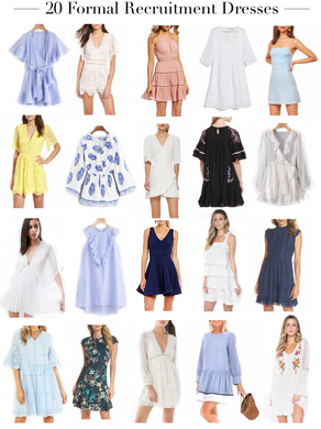 Recruitment Dress You Need -- All Under $100