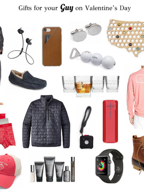 Gifts for Your Guy on Valentine's Day