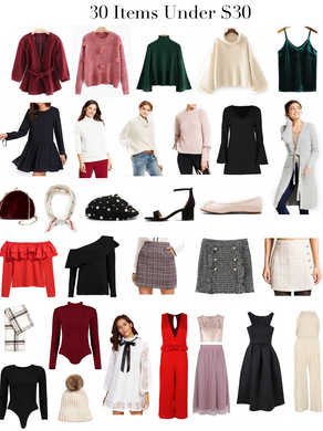 30 Items Under $30 for the Pre-Holiday Seasons