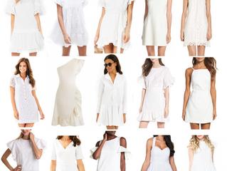 15 Little White Dresses for Spring