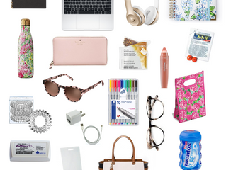 What's in My Workbag