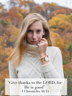 """""""Give thanks to the LORD, for He is good"""""""