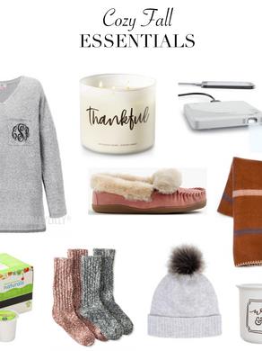 Cozy Fall Essentials