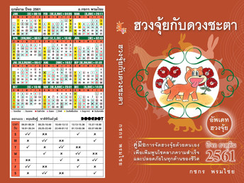 หนังสือฮวงจุ้ยกับดวงชะตา ปีจอ ธาตุดิน 2561