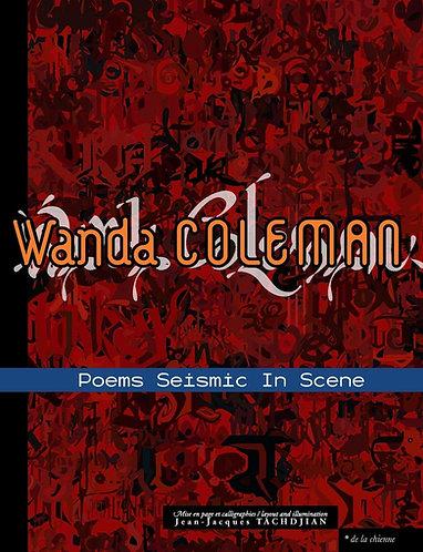 Poems Seismic in Scene