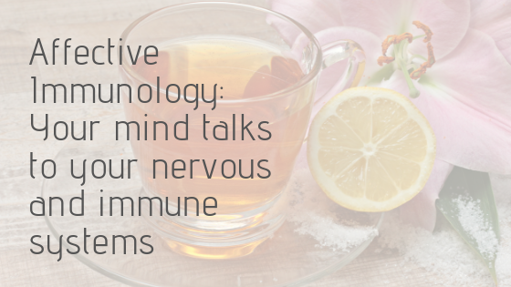 The field of affective immunology studies the mind body connection and reveals useful insights for any wellness initiative.
