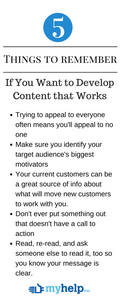 Content the works