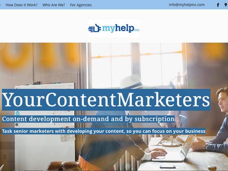 YourContentMarketers is Live!