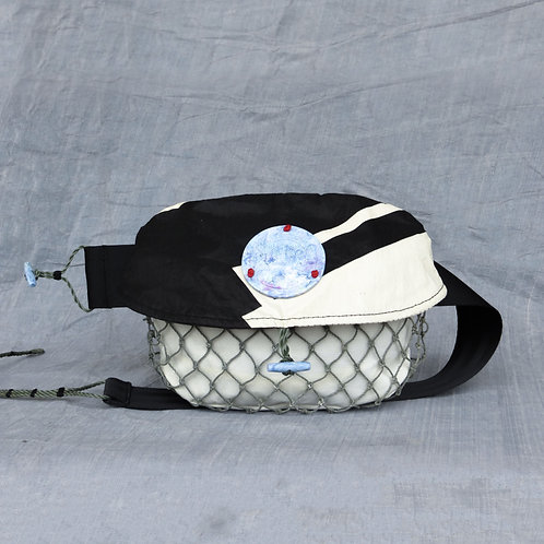 Sea Jelly - Size L - 100% Upcycled Hip Pack