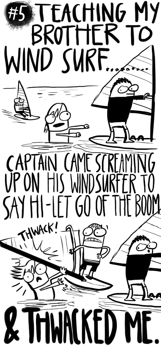 sarah steenland, travel blog, web comic, sailing blog, cruising cartoonist, children's book illustrator,
