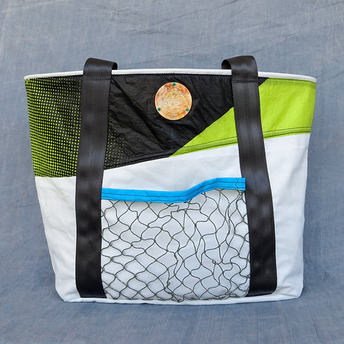 Whale Shark - 100% Upcycled Tote Bag