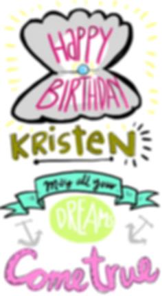 sarah Steenland, cartoonist, freelance illustrator, cartooniverse, comic, artist, social media, branding, happy birthday card,