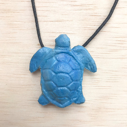 Green Sea Turtle - Blue