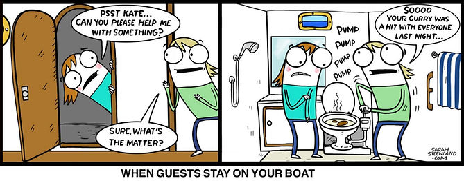 The Coconut telegraph sailing comic, sailing comic, cruisers life, cruisers on beach, land life, cruising life, sailing, cruising comic, web comic, sarah steenland, cruising cartoonist,