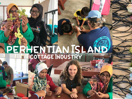 The Perhentian Island Cottage Industry Using Plastic Waste