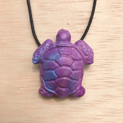 Green Sea Turtle - Purple Mix