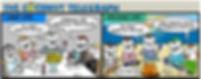 The Coconut telegraph sailing comic, sailing comic, cruisers life, cruisers on beach, land life, cruising life, sailing, cruising comic, web comic, sarah steenland, cruising cartoonist,