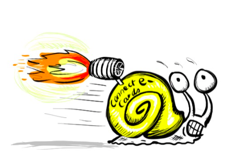 Fast Snail Cartoon