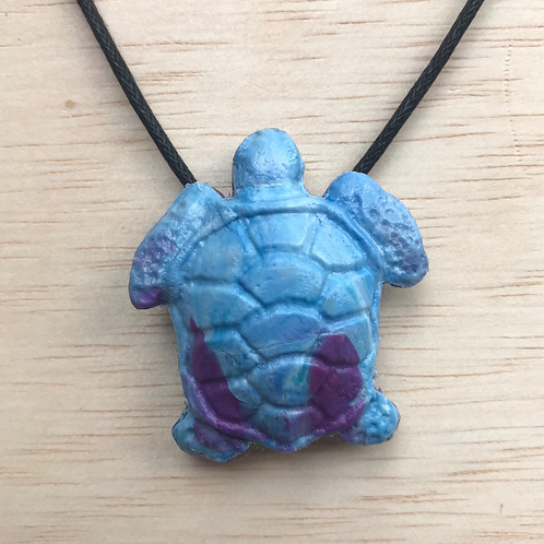 Green Sea Turtle - Blue Mix