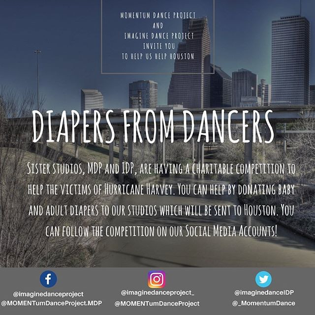 Diapers From Dancers Flyer