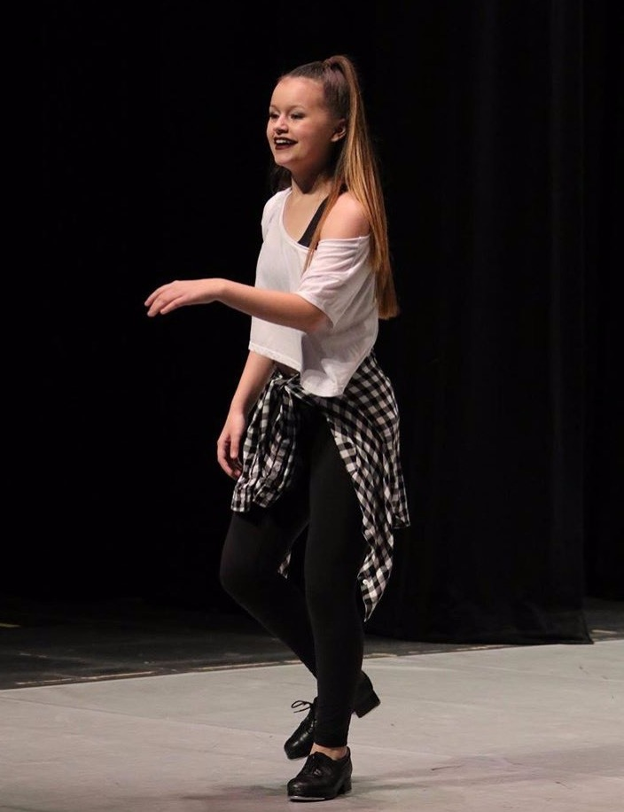 Stephanie performed a tap duet at The Minnesota State Fair.