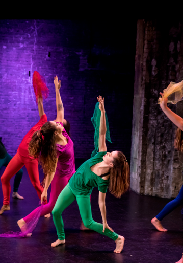 """Miranda performing in """"Vivify - A Still Life in Motion"""" with Minnesota Dance Collaborative."""