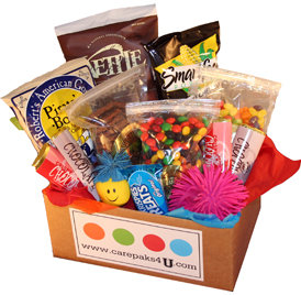 Nut free care package