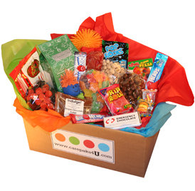 The Indulge! special care package