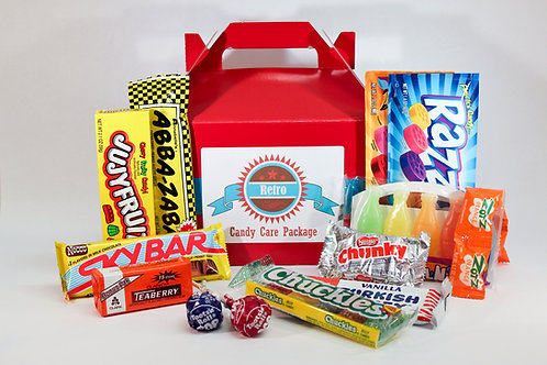 Retro Candy Care Package