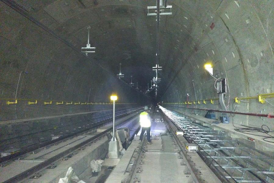 Tube tunnel, Sao Paulo, Brazil