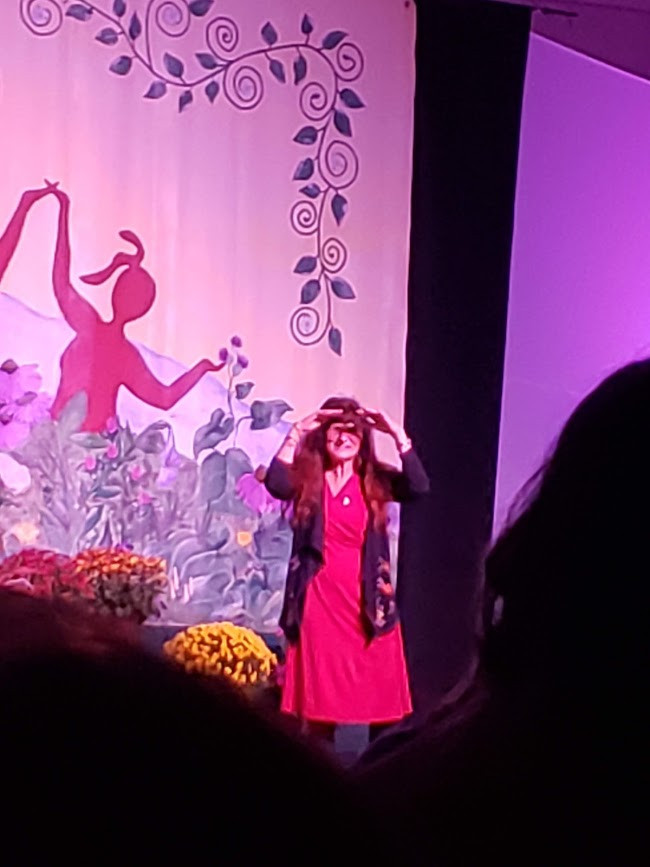 Rosemary Gladstar at SeWiseWomen Conference