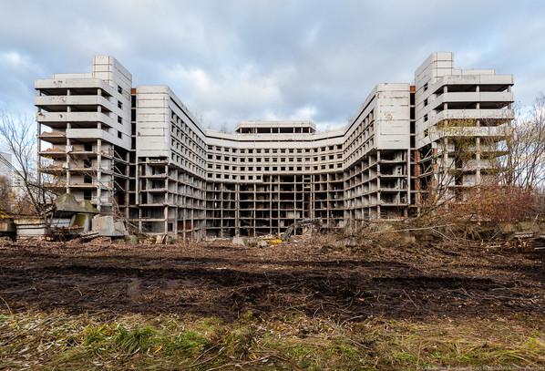 Ховринская больница превратится во вторичный щебень