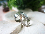 Textured Silver Rings (Basic)