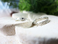 Patterned Silver Rings (Basic)