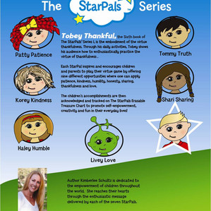 The StarPals Empowering/Inspiring Childrens Books ~ Values/Virtues in ACTion!