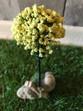 Small Light Yellow Tree