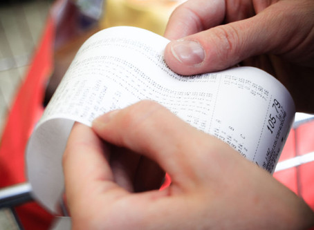 Why You Should Never Touch Receipts